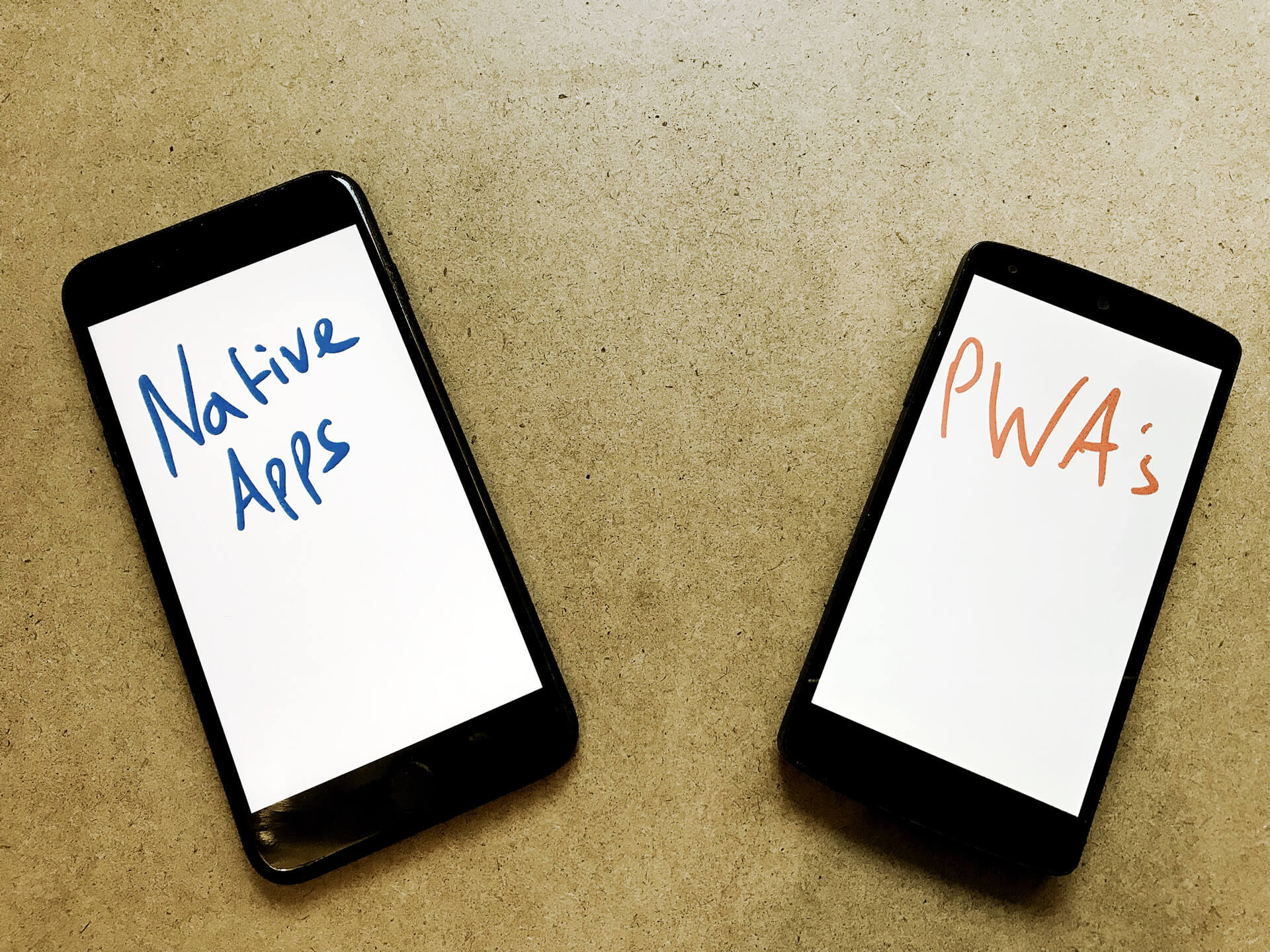 Progressive Web App vs Native App: the essential difference